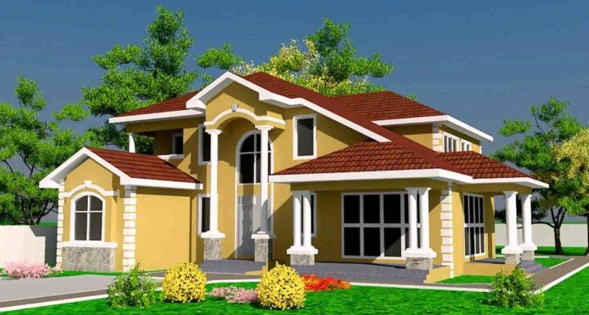 House Designs Floor Plans Ghana Youtube
