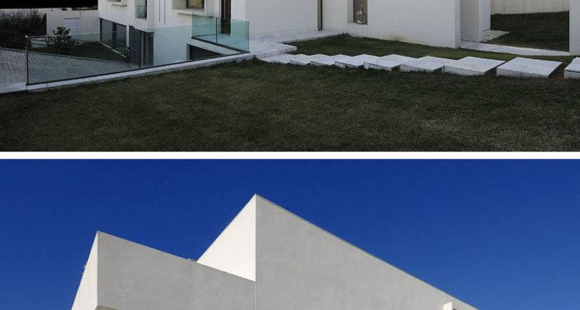 House Exterior Colors Modern White Houses Around
