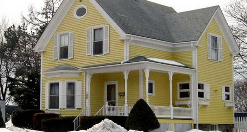 House Painting Ideas Exterior Photos Yellow