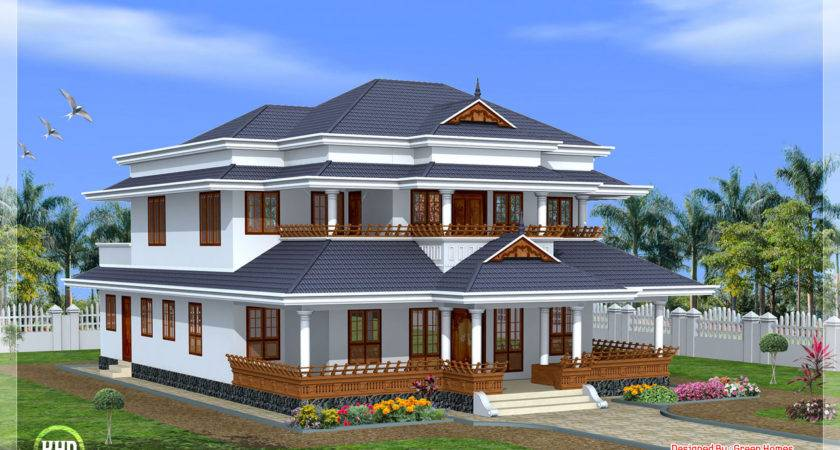 House Plan Traditional Kerala Style Home Design Floor