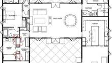House Plans Shaped Ranch