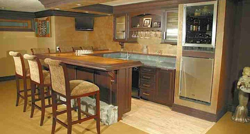 Ideas Create Bar Basement Area Home