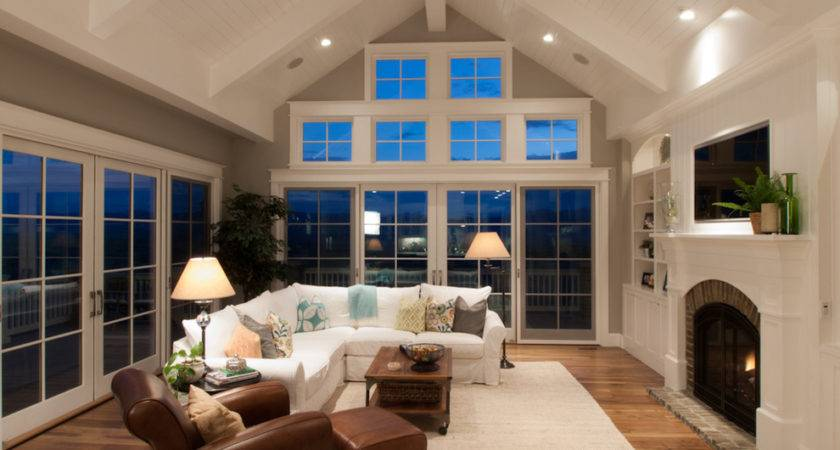 Ideas Decorating Rooms Vaulted Ceilings House