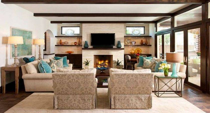 Ideas Living Room Furniture Layout Modern House