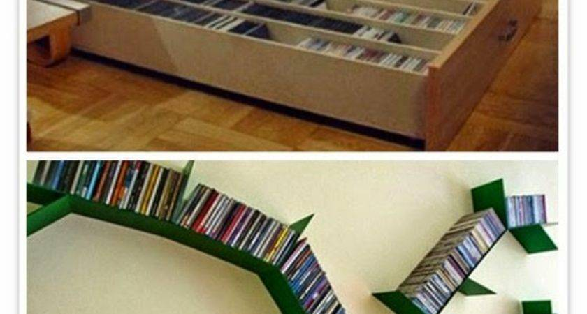 Ideas Storing Dvds Super Small Apartment Cool