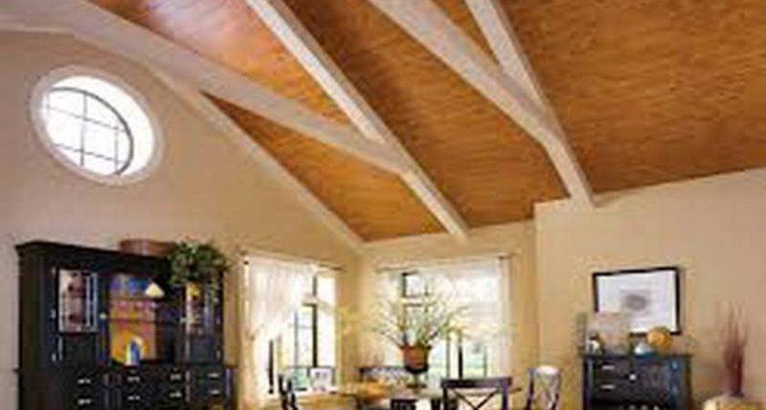 Ideas Wood Ceiling Planks Rustic Home Design Plank