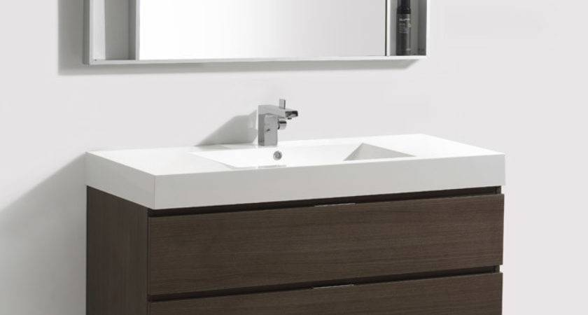Inch Wall Mount Bathroom Vanity