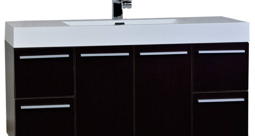 Inch Wall Mount Contemporary Bathroom Vanity