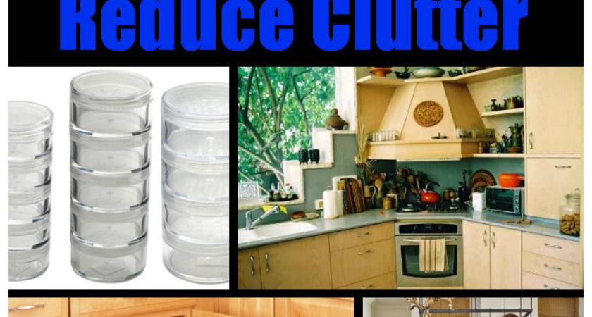 Increase Kitchen Storage Reduce Clutter
