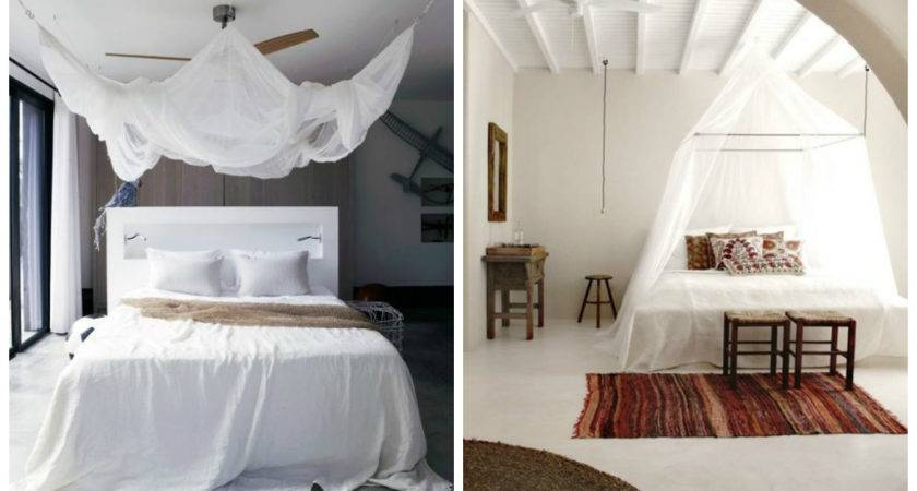 Incredible White Canopy Bedroom Ideas