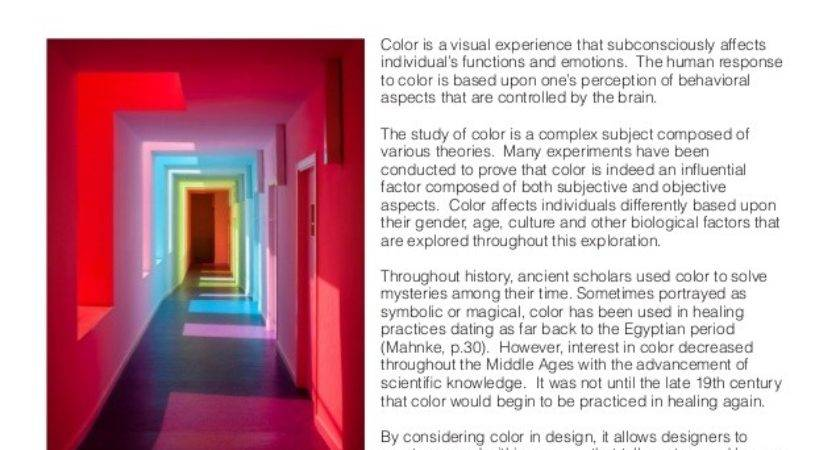 Independent Study Psychology Color Interior