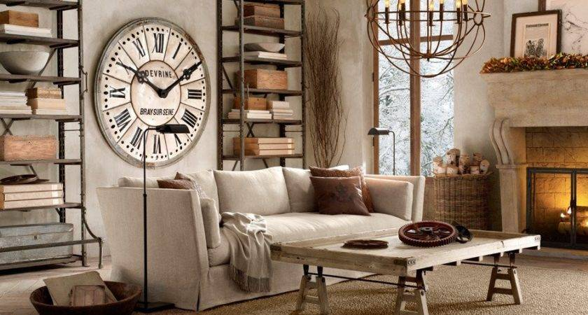 Industrial Chic French Style Home Shabby