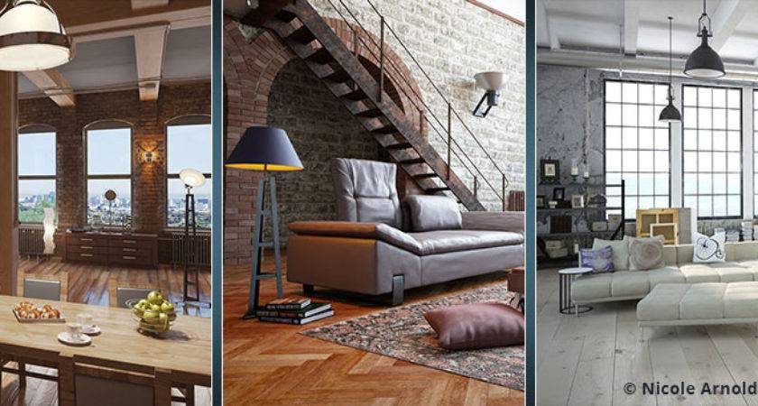 Industrial Chic Interior Design Style
