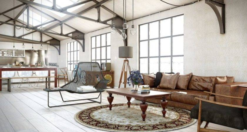 Industrial Decorating Ideas Small Living Rooms