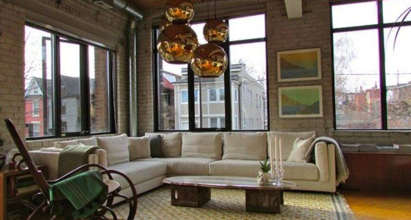 Industrial Living Room Designs Leave