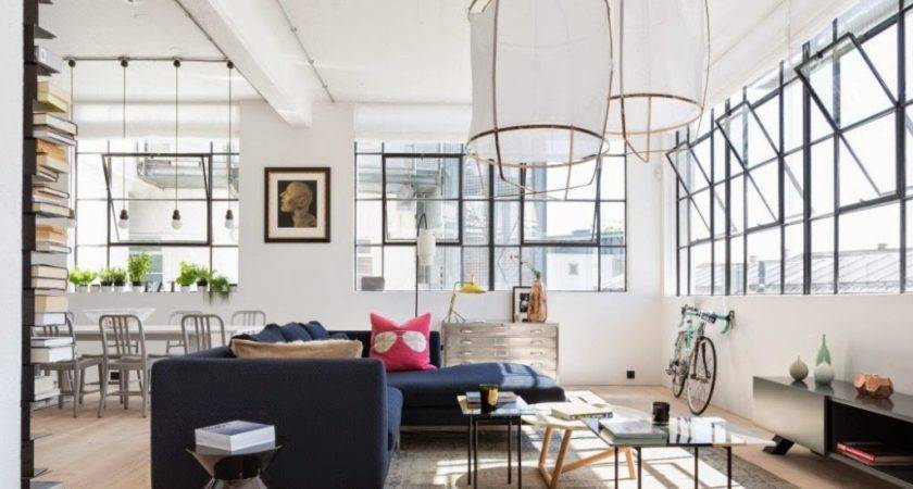 Industrial Modern Apartment Interior Design Troondinterior