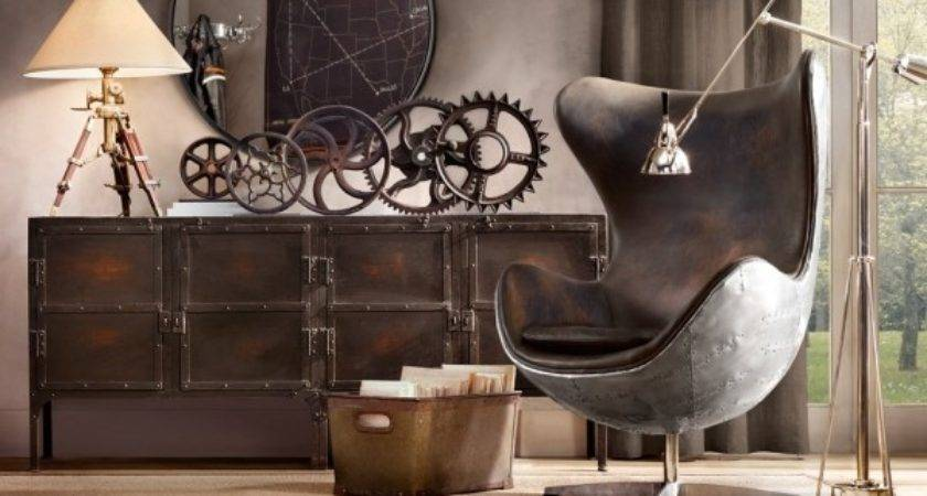 Industrial Style Decorations Ideas