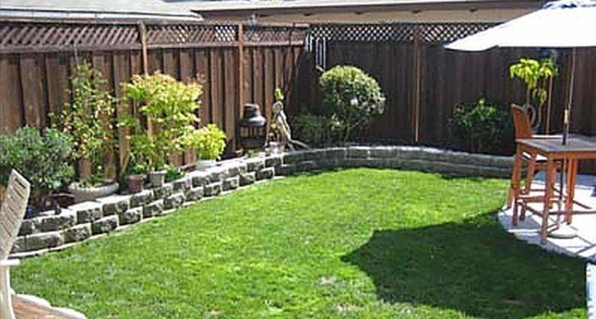 Inexpensive Landscaping Ideas Small Backyards