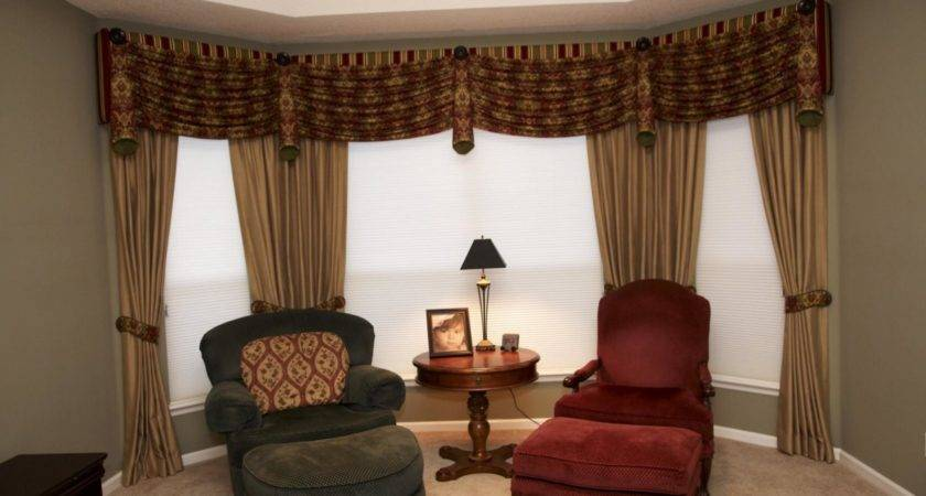 Innovative Window Curtain Ideas Large Windows Top Design