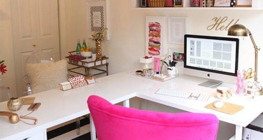 Inspiring Feminine Home Office Decor Ideas Your Dream Job