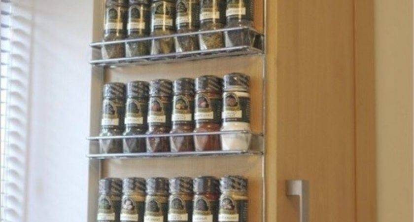 Interesting Spice Racks Decorate Your Kitchen