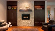 Interior Accent Ideas Using Brick Fireplace