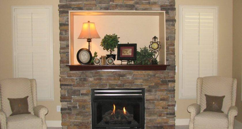 Interior Contemporary Stone Fireplaces Modern Outdoor