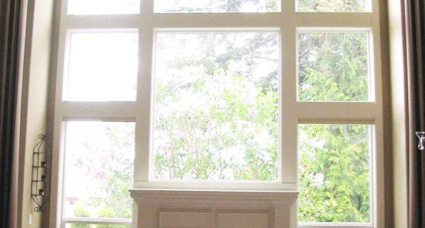 Interior Endearing Look High Ceiling Window Treatments