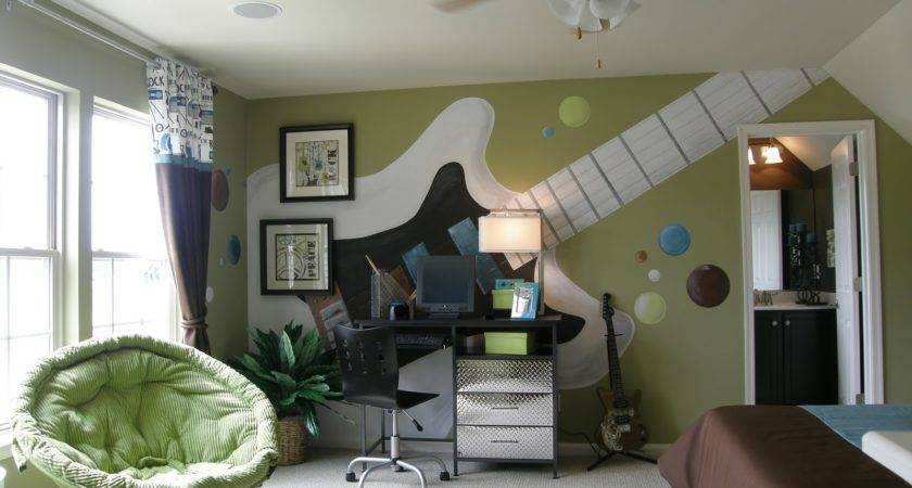 Jam Session Teen Bedroom Design Dazzle