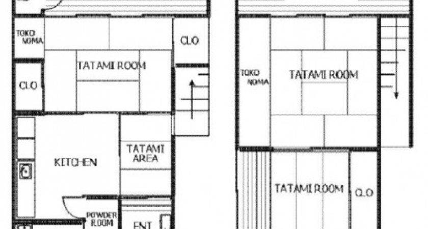 Japanese House Design Floor Plans Traditional
