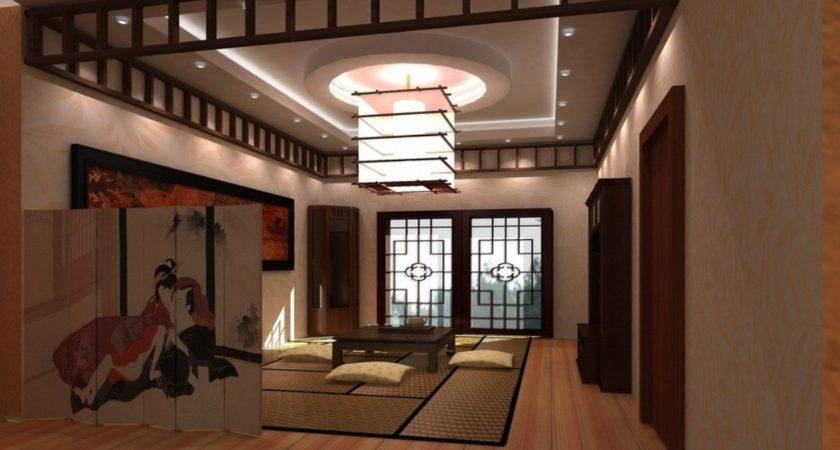 Japanese Living Room Interior Design Ideas House