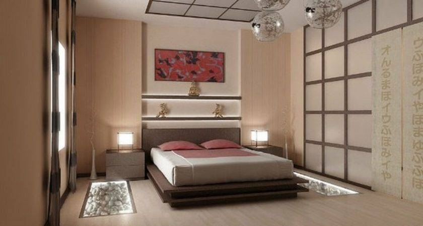 Japanese Style Bed Design Ideas Contemporary Bedroom