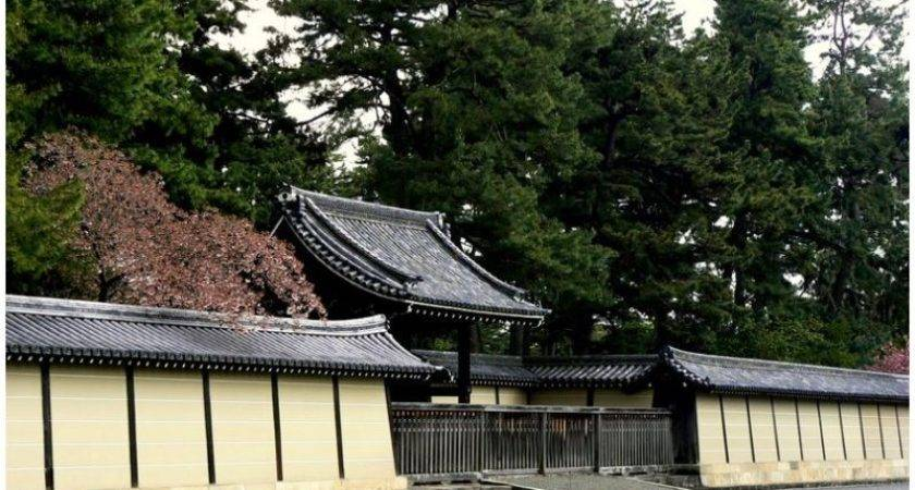 Japanese Wall Gate Architecture Photos Kate