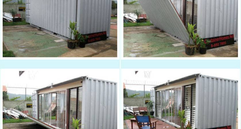 Jetson Green Shipping Container