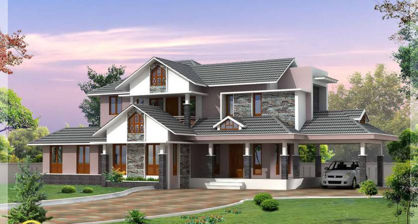 Kerala Style Dream Home Elevations House Design