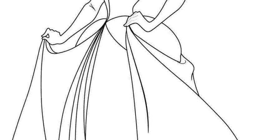 Kids Cinderella Coloring Pages