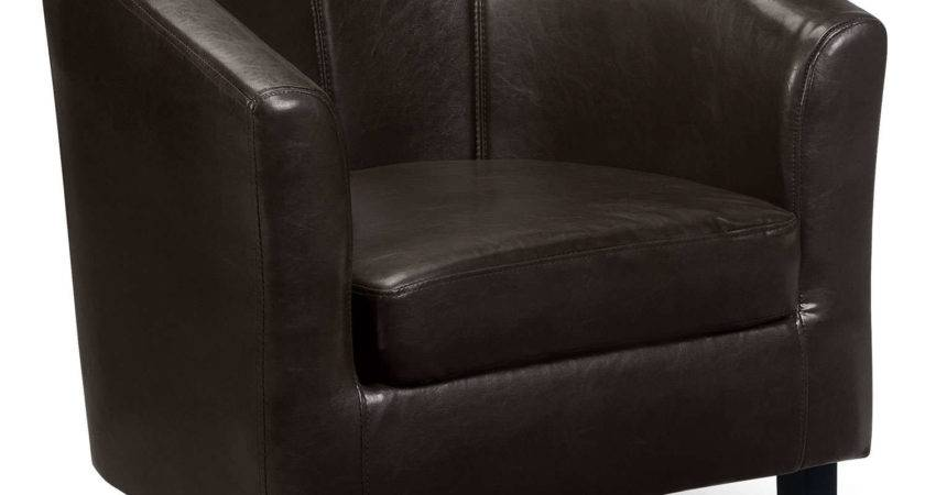 Kingsley Black Tub Chair Next Day Delivery