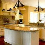 Kitchen Cabinet Paint Colors Chandelier