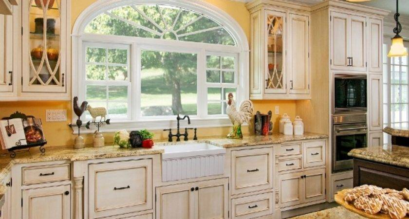 Kitchen Cabinets Cottage Style French Country