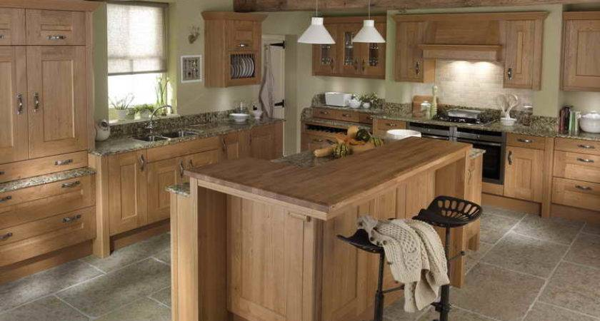 Kitchen Classic Wooden Country Living Kitchens