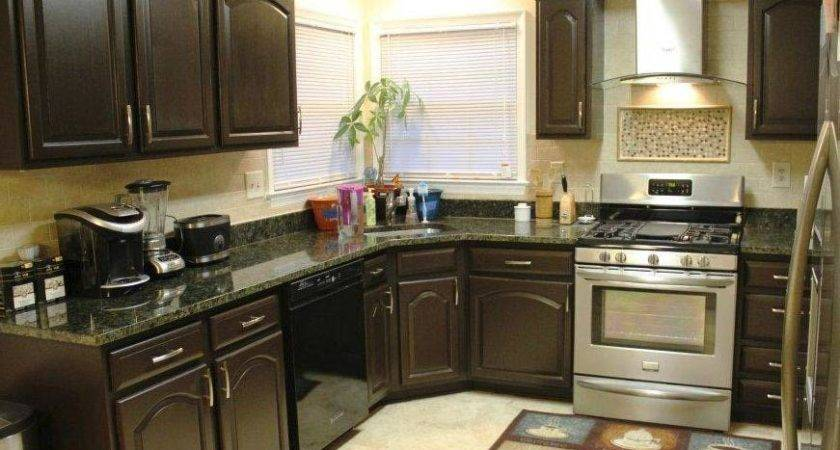 Kitchen Designs Charming Painted Wood Cabinet