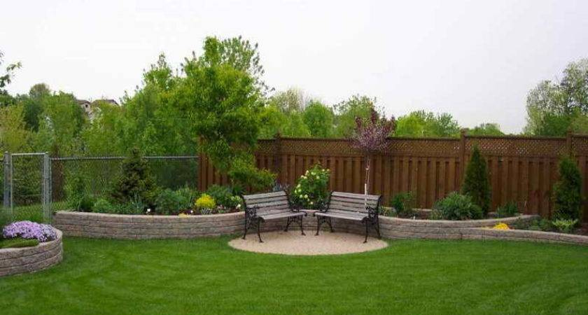 Landscape Excellent Simple Backyard Landscaping