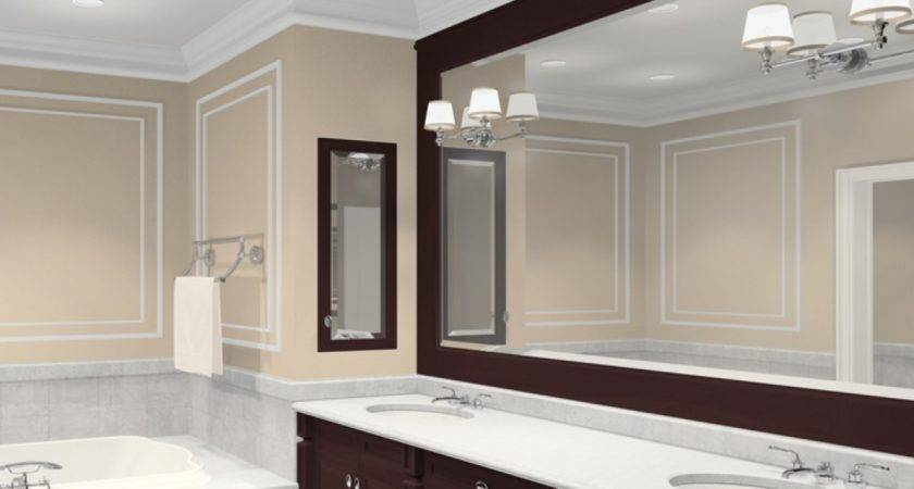 Large Mirror Bathroom Square Mirrors Ideas