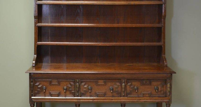 Large Quality Victorian Antique Oak Dresser Antiques World