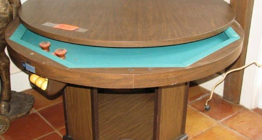 Large Round Bumper Pool Table Removal