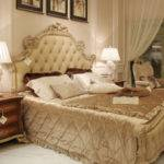 Latest Design Royal Style Wooden Twin Bed Big