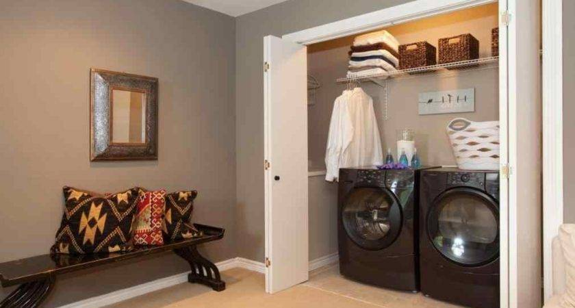 Laundry Closet Shelving Room Problem Create Your Own Space