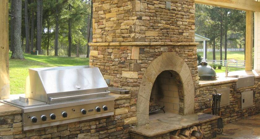Lawn Garden Fireplaces Stone Brick More Home