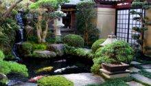 Lawn Garden Japanese Designs Small Spaces