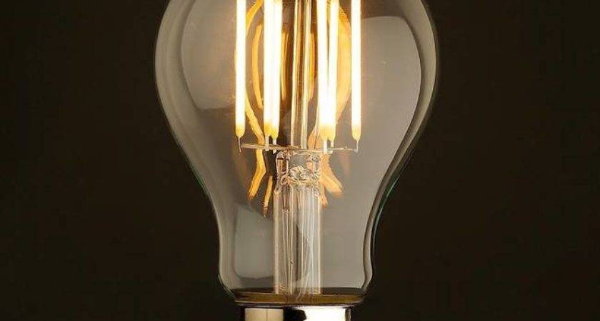Led Bulbs Look Just Like Old Timey Edison Incandescents